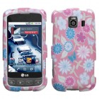 LG Optimus S Stitching Garden Case