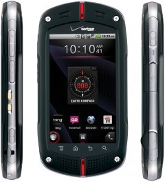 Casio GzOne Commando C771 Rugged MIL-SPEC Android Smartphone for Verizon - Black