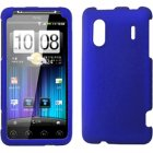 HTC Hero S/EVO Design 4G Rubberized Snap-On Cover, Blue