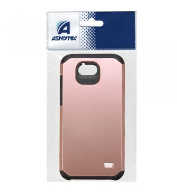 ZTE Maven / Overture 2 / Fanfare Rose Gold/Black Astronoot Phone Protector Cover