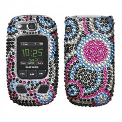 Samsung Convoy 2 SCH-U660 Bubble Diamante Case