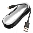 Black USB Type-C Data Cable 5 FT
