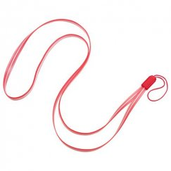 (5PCS)Red TPU Lanyard (17.75inch)