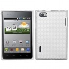 LG Intuition T-Clear Argyle Pane Candy Skin Cover