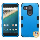 LG Nexus 5X Natural Dark Blue/Black Hybrid Case