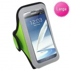 Vertical Pouch Universal Light Green Sport Armband