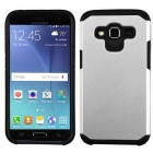 Samsung Galaxy J2 Silver/Black Astronoot Phone Protector Cover