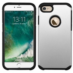 Apple iPhone 7 Silver/Black Astronoot Case