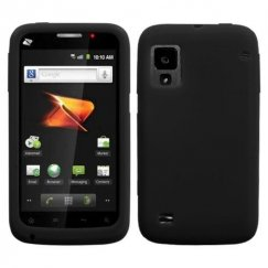 ZTE Warp N860 Solid Skin Cover - Black