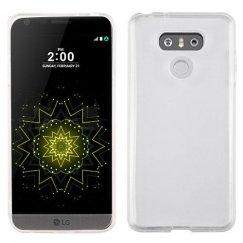 LG G6 Glossy Transparent Clear Candy Skin Cover