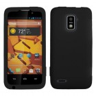 ZTE Warp 4G Solid Skin Cover - Black