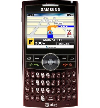 Samsung BlackJack2 Bluetooth RED Windows Smart Phone ATT