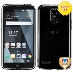 LG G Stylo 3 Glassy Transparent Clear SPOTS Candy Skin Cover
