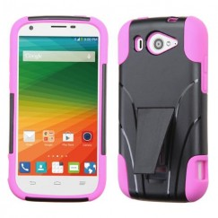 ZTE Imperial 2 Hot Pink Inverse Advanced Armor Stand Case