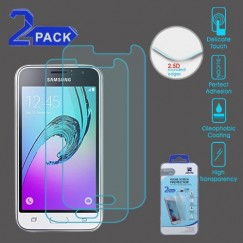 Samsung Galaxy J1 Tempered Glass Screen Protector - 2-pack