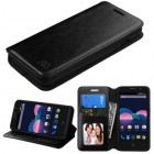 ZTE Obsidian Black Wallet with Tray