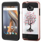Coolpad Catalyst Love Tree(Rose Gold)/Black Brushed Hybrid Case