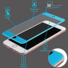 Apple iPhone 6/6s 3D Curved Edge Titanium Alloy Tempered Glass Screen Protector/Blue