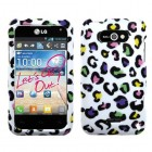 LG Motion 4G Colorful Leopard Phone Protector Cover