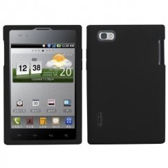 LG Intuition Solid Skin Cover - Black