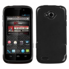 ZTE Savvy / Reef Semi Transparent Smoke Candy Skin Cover - Rubberized