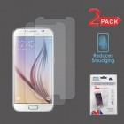 Samsung Galaxy S6 Anti-grease LCD Screen Protector/Clear (2-pack)