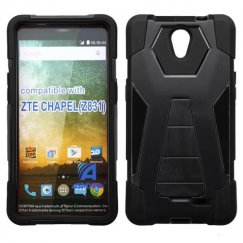 ZTE Chapel Black Inverse Advanced Armor Stand Case