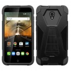 Alcatel One Touch Conquest Black Inverse Advanced Armor Stand Case