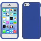 Apple iPhone 5c Rubberized Plastic Protector Case in Blue
