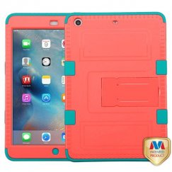 AppleiPad Mini 3rd Gen Natural Baby Red/Tropical Teal Hybrid Case