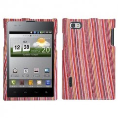 LG Intuition Vertical Stripes Case