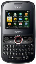 Huawei Pillar M615 Basic QWERTY Phone for Cricket Wireless - Black