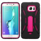 Samsung Galaxy S6 Edge Plus Hot Pink/Black Symbiosis Stand Case