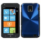 Samsung Focus S Blue Cosmo Back Protector Cover