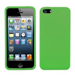 Apple iPhone 5c Solid Skin Cover - Green
