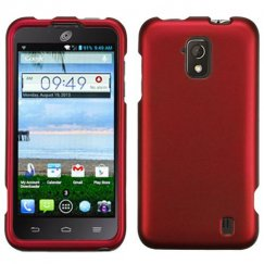 ZTE Solar Titanium Solid Red Case