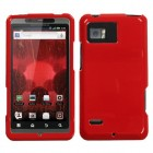 Motorola Droid Bionic Solid Flaming Red Case