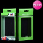 (20PCS)Plastic Protector Cover Packing (Green) (L=6.10*W=3.43*D=0.79 inch)