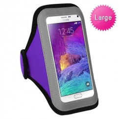Vertical Pouch Universal Purple Sport Armband