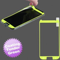 Samsung Galaxy S4 Coating Screen Protector/Tender Green