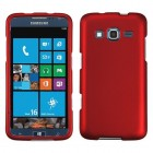 Samsung Ativ S Neo SPH-I800 Titanium Solid Red Phone Protector Cover