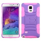 Samsung Galaxy Note 4 Purple/Electric Pink Advanced Armor Stand Case