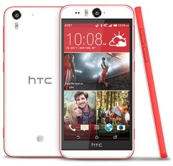 HTC Desire EYE 16GB Android Smartphone - Ting - Coral Red