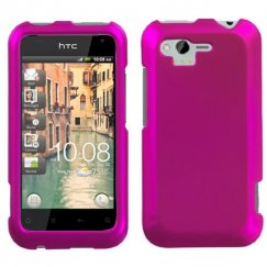 HTC Rhyme Titanium Solid Hot Pink Case