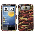 HTC HD7 Camo/Yellow Phone Protector Cover
