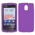 Pantech Discover Solid Skin Cover - Electric Purple