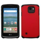 LG Optimus Zone 3 / Spree Red/Black Astronoot Case