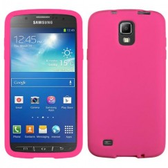 Samsung Galaxy S4 Active SGH-i537 Solid Skin Cover - Hot Pink