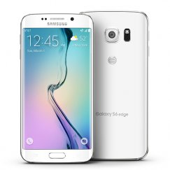 Samsung Galaxy S6 Edge 64GB G925A Android Smartphone - Unlocked GSM - White Pearl