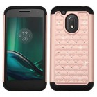 Motorola Moto G4 Play Rose Gold/Black FullStar Protector Cover